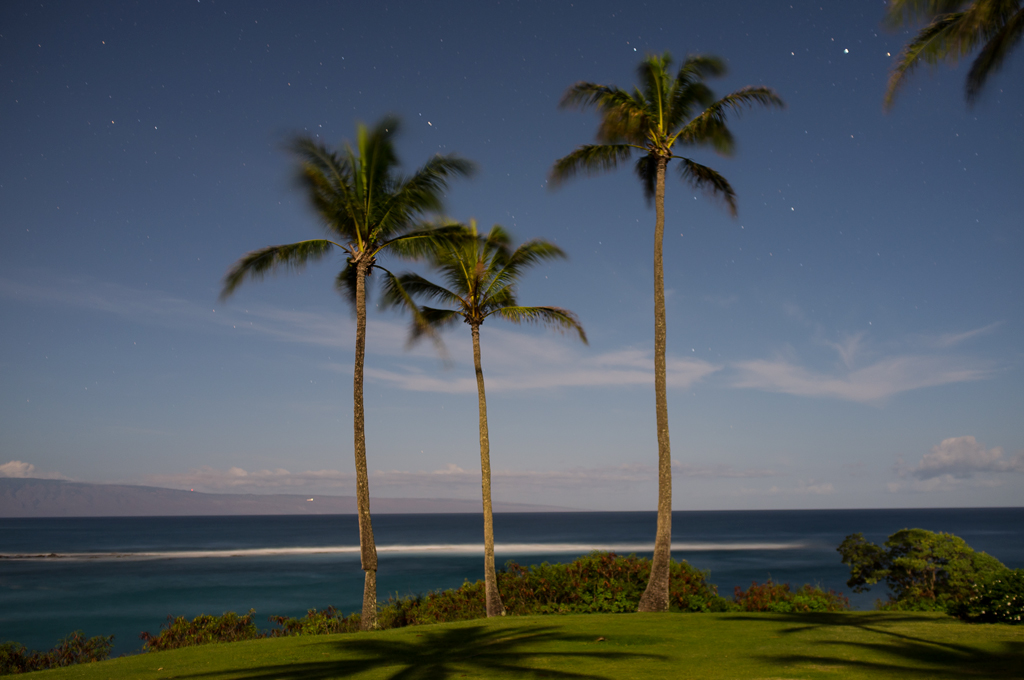 Maui Beach at Night
